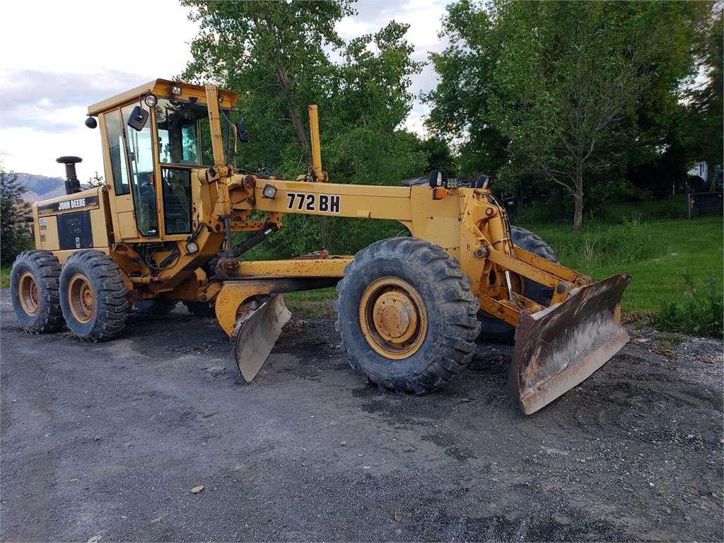John Deere 772BH, Motor Graders, Construction Equipment