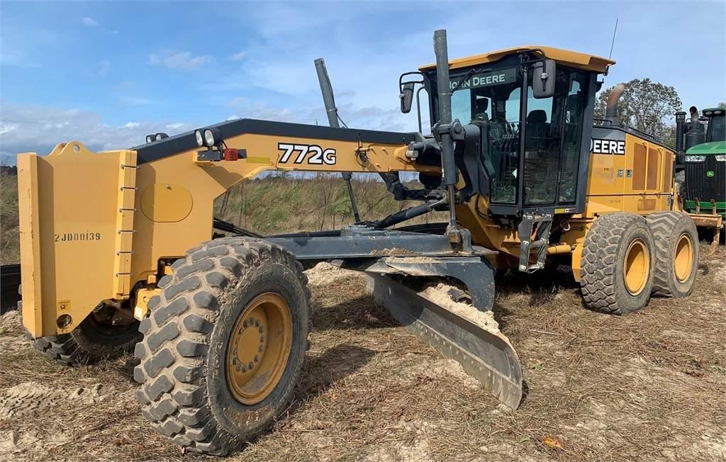 John Deere 772G, Motor Graders, Construction Equipment