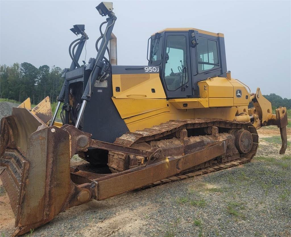 John Deere 950J, Crawler dozers, Construction Equipment