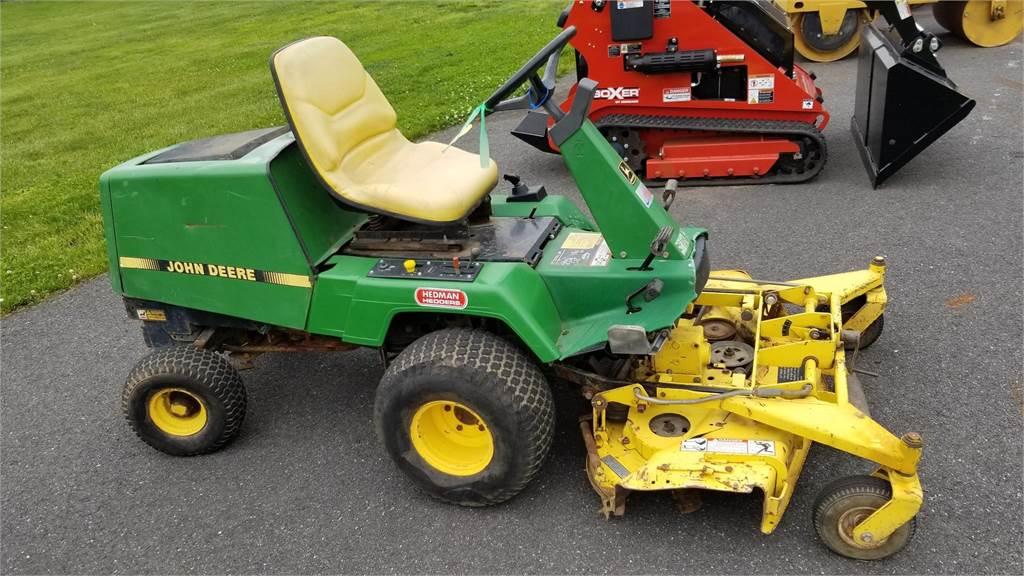 John Deere F710, Riding mowers, Grounds Care
