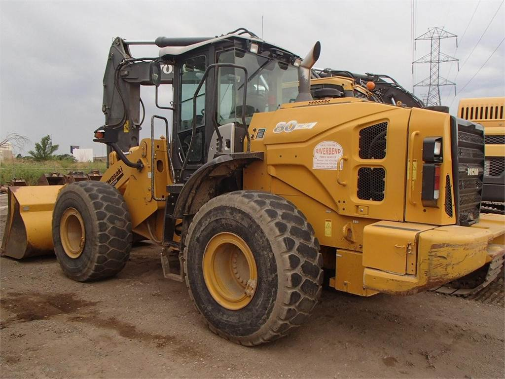 Kawasaki 80Z7, Wheel Loaders, Construction Equipment