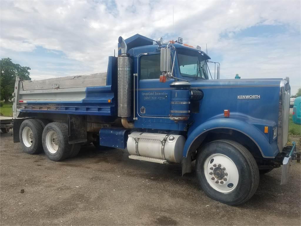 Kenworth W900, Dump Trucks, Trucks and Trailers