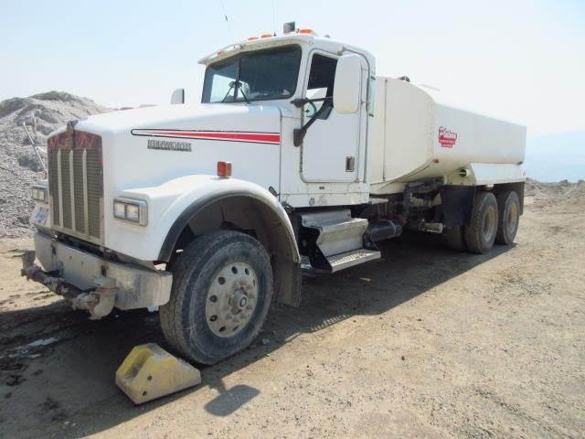 Kenworth W900B, Water Tankers, Construction Equipment