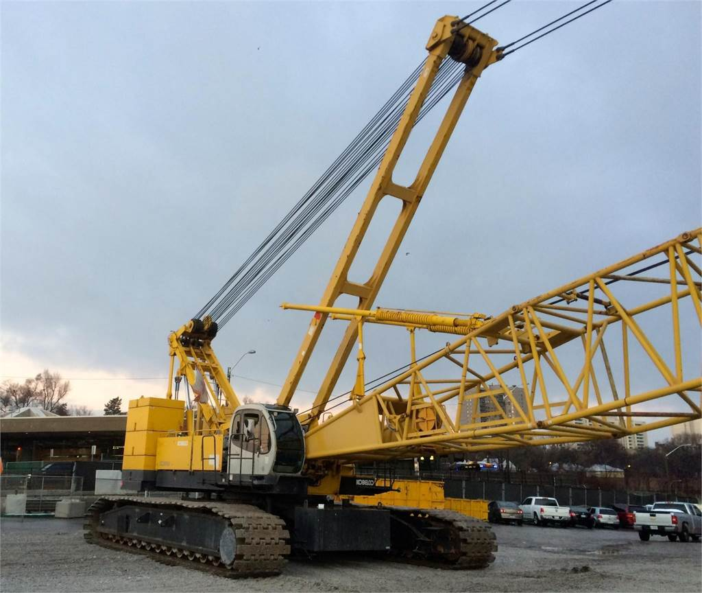 Kobelco CK2500, Crawler Cranes, Construction Equipment