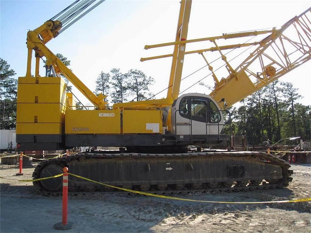 Kobelco CK2500, Crawler Cranes, Construction Equipment