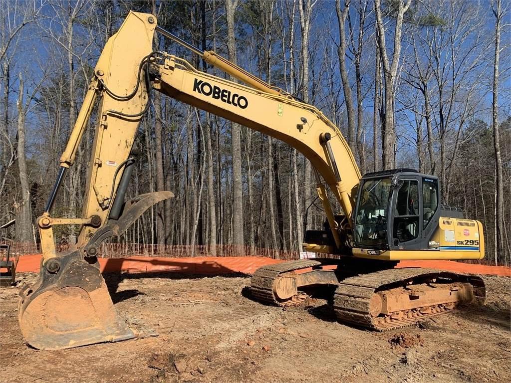Kobelco SK295-9, Crawler Excavators, Construction Equipment