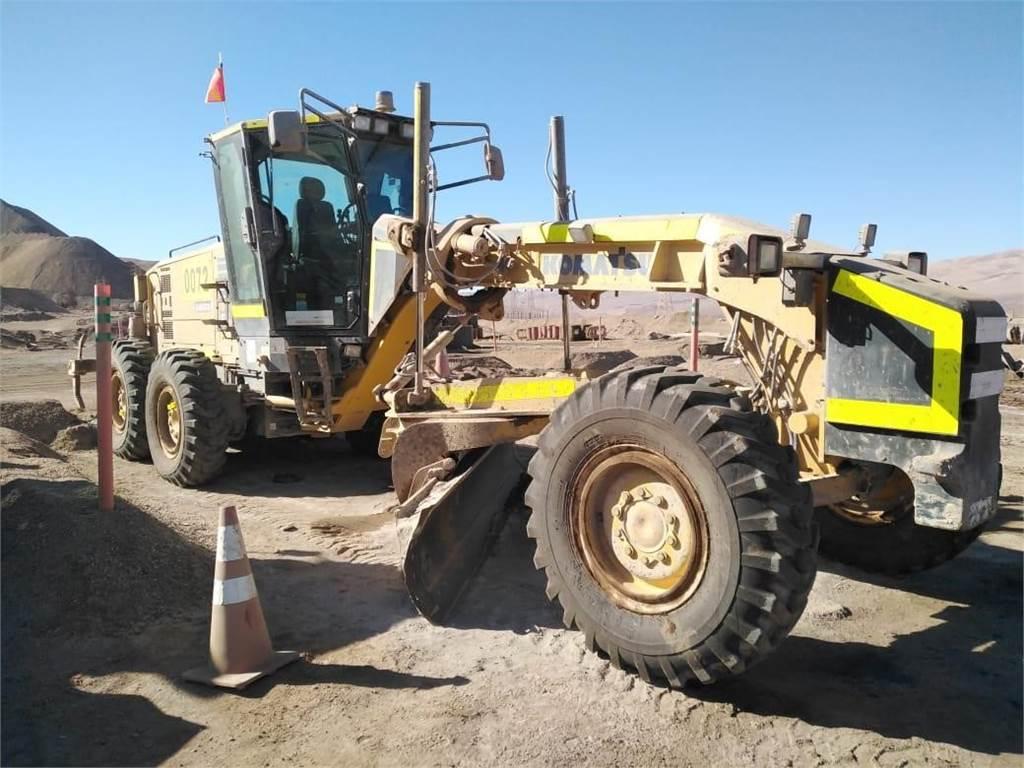 Komatsu GD555-5, Motor Graders, Construction Equipment