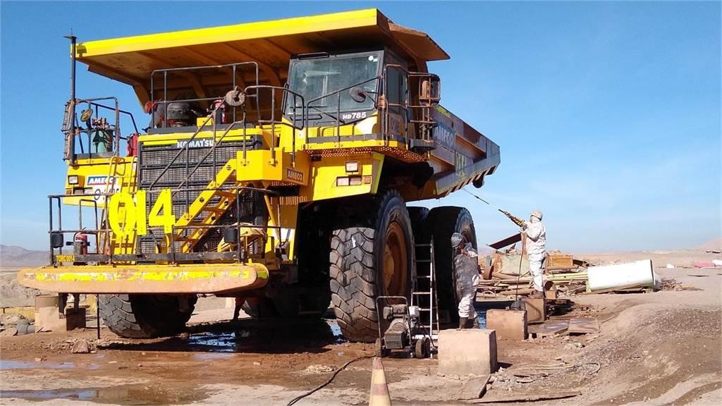 Komatsu HD785-7, Articulated Dump Trucks (ADTs), Construction Equipment