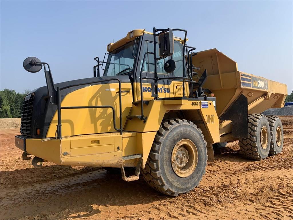 Komatsu HM300-5, Articulated Dump Trucks (ADTs), Construction Equipment