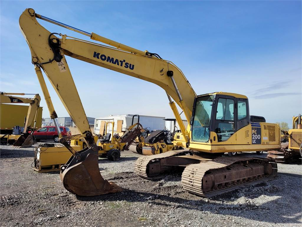 Komatsu PC200 LC-7L, Crawler Excavators, Construction Equipment