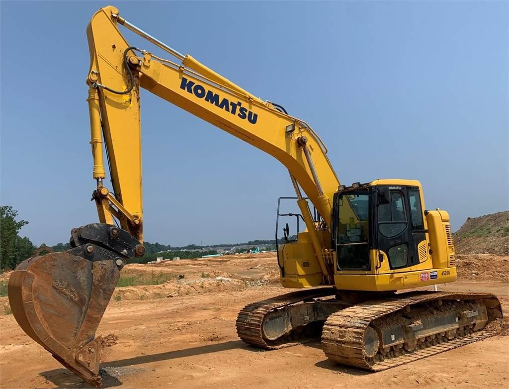 Komatsu PC238US LC-11, Crawler Excavators, Construction Equipment
