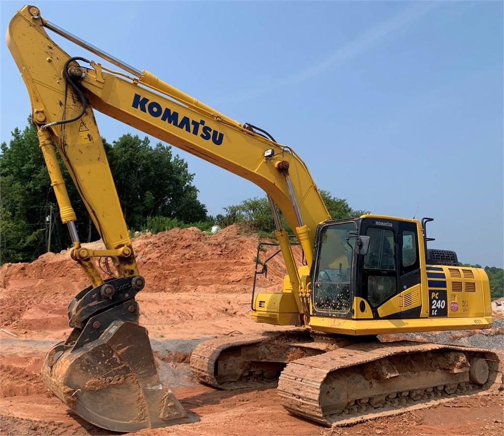 Komatsu PC240 LC-11, Crawler Excavators, Construction Equipment