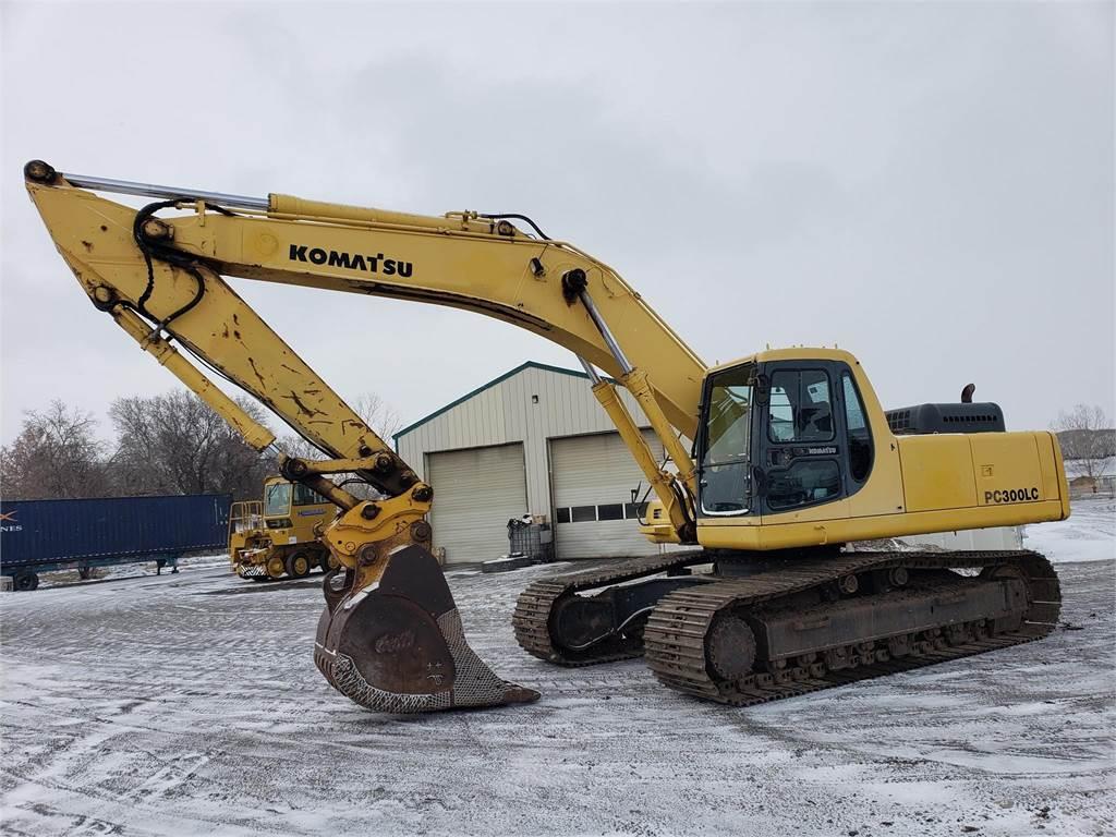 Komatsu PC300 LC-6LC, Crawler Excavators, Construction Equipment