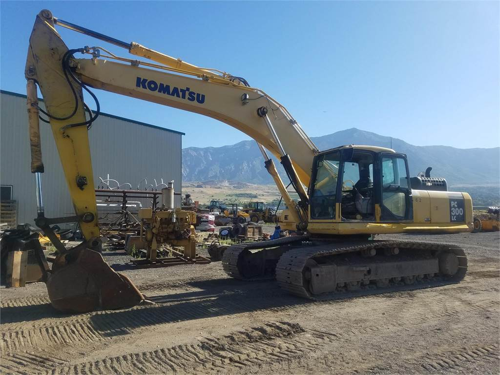 Komatsu PC300 LC-7E0, Crawler Excavators, Construction Equipment