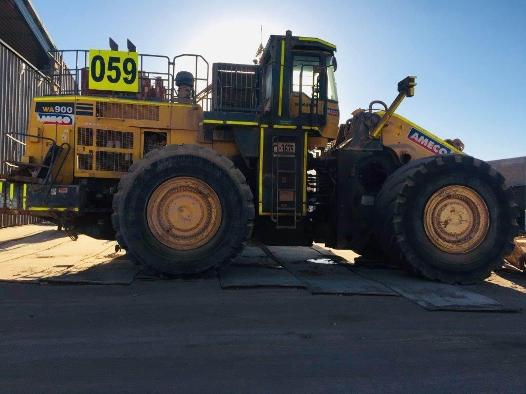 Komatsu WA900-3EO, Wheel Loaders, Construction Equipment