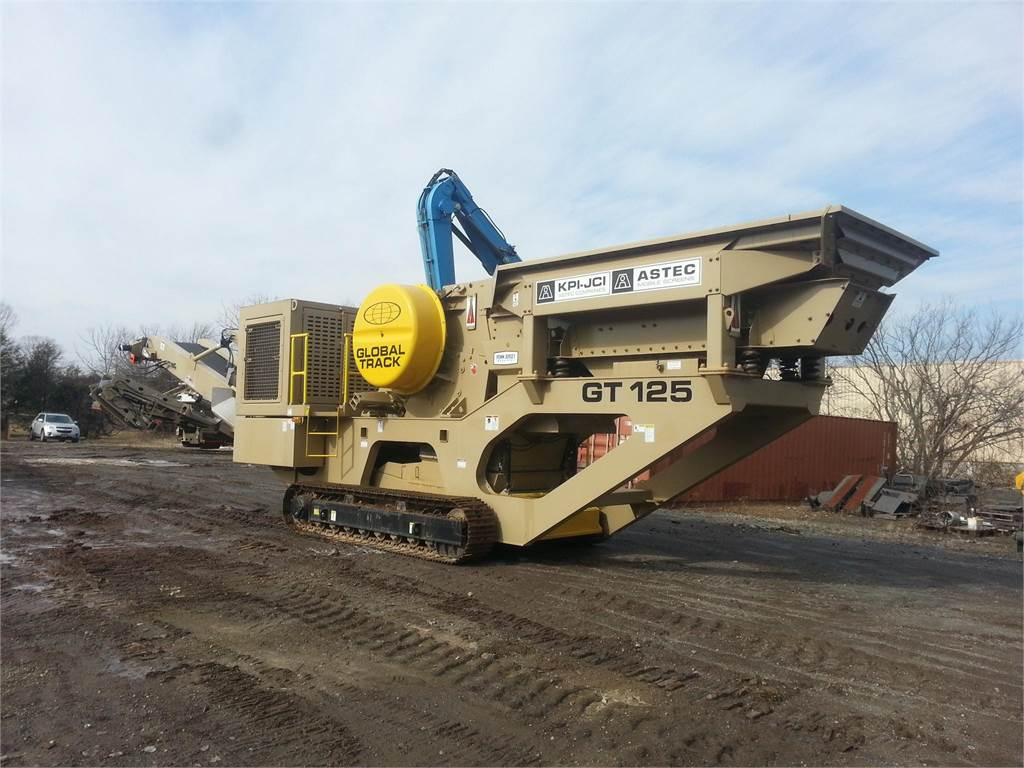 KPI-JCI GT125, Crushers, Construction Equipment