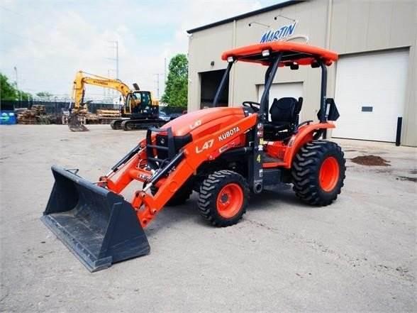 Kubota L47, Backhoe Loaders, Construction Equipment