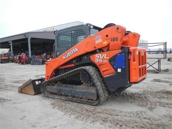 Kubota SVL95-2S, Skid Steer Loaders, Construction Equipment