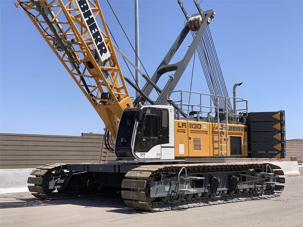 Liebherr LR1130, Crawler Cranes, Construction Equipment