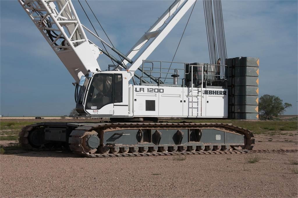 Liebherr LR1200, Crawler Cranes, Construction Equipment