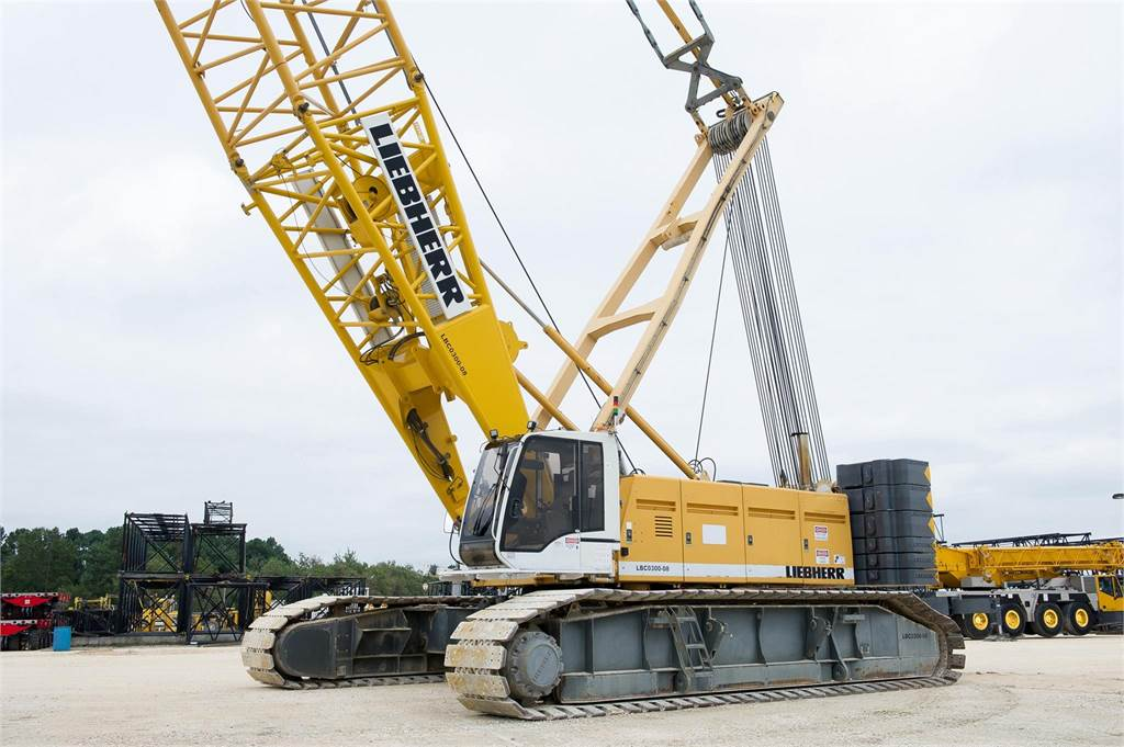 Liebherr LR1280, Crawler Cranes, Construction Equipment