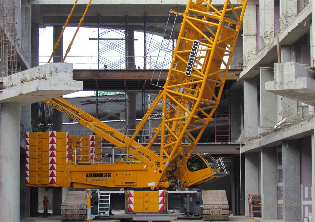Liebherr LR1600-2, Crawler Cranes, Construction Equipment