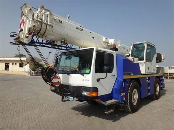 Liebherr LTM1030-2.1, All terrain cranes, Construction Equipment