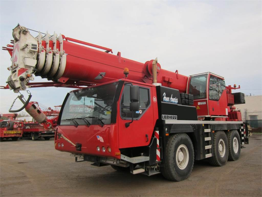 Liebherr LTM1055, All Terrain Cranes and Hydraulic Truck Cranes, Construction Equipment