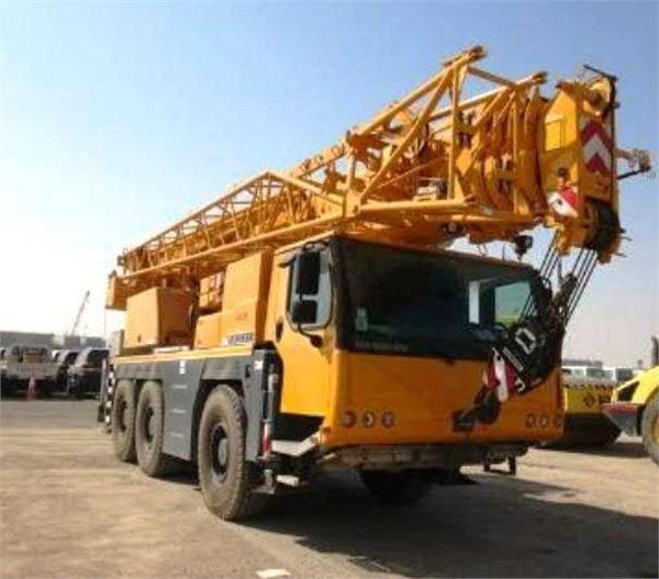 Liebherr LTM1055-3.2, All terrain cranes, Construction Equipment
