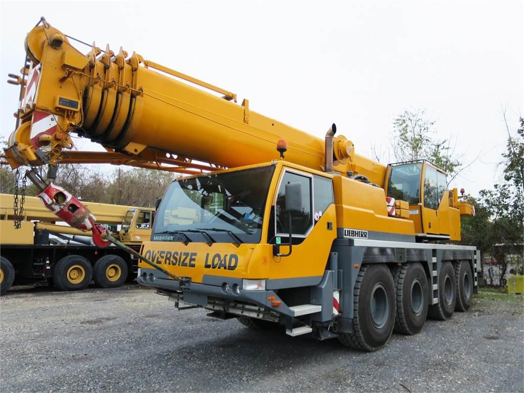 Liebherr LTM1060-2, All Terrain Cranes and Hydraulic Truck Cranes, Construction Equipment