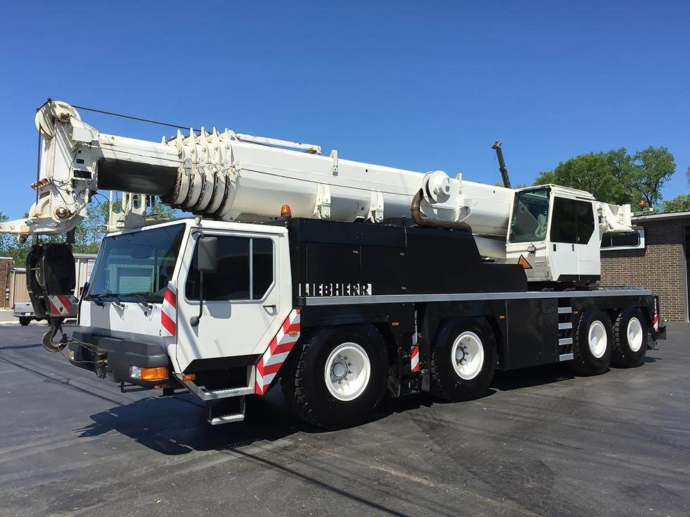 Liebherr LTM1080-1L, All Terrain Cranes and Hydraulic Truck Cranes, Construction Equipment