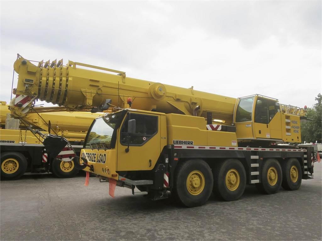 Liebherr LTM1090-4.1, All Terrain Cranes and Hydraulic Truck Cranes, Construction Equipment