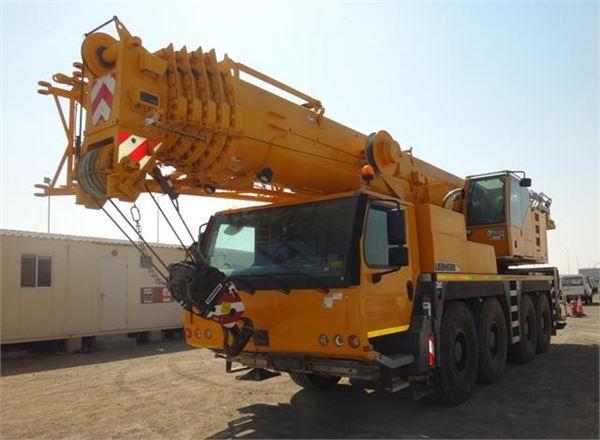 Liebherr LTM1090-4.1, All terrain cranes, Construction Equipment