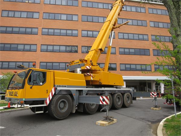 Liebherr LTM1095-5.1, All Terrain Cranes and Hydraulic Truck Cranes, Construction Equipment