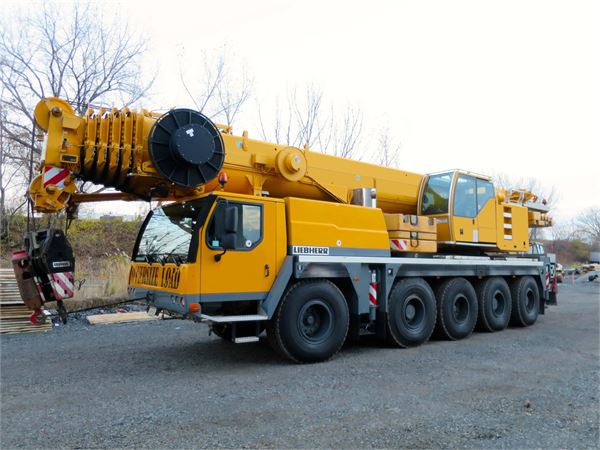 Liebherr LTM1100-5.2, All Terrain Cranes and Hydraulic Truck Cranes, Construction Equipment