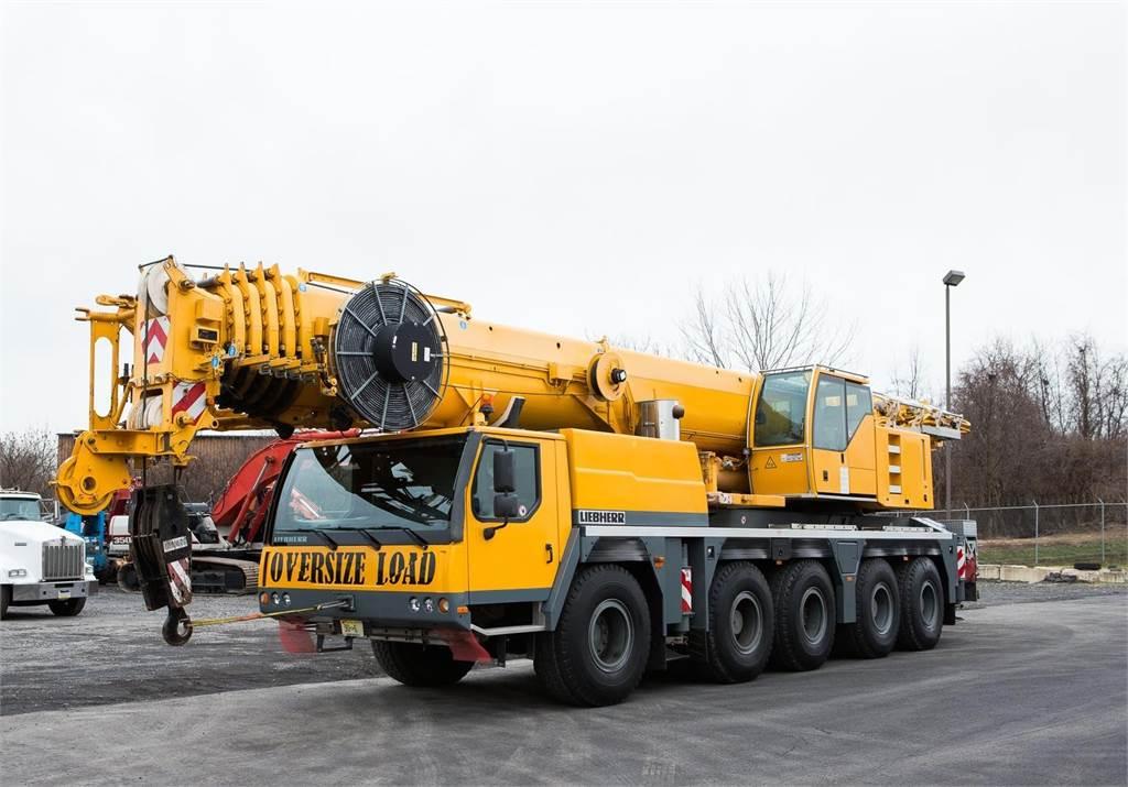 Liebherr LTM1130-5.1, All Terrain Cranes and Hydraulic Truck Cranes, Construction Equipment