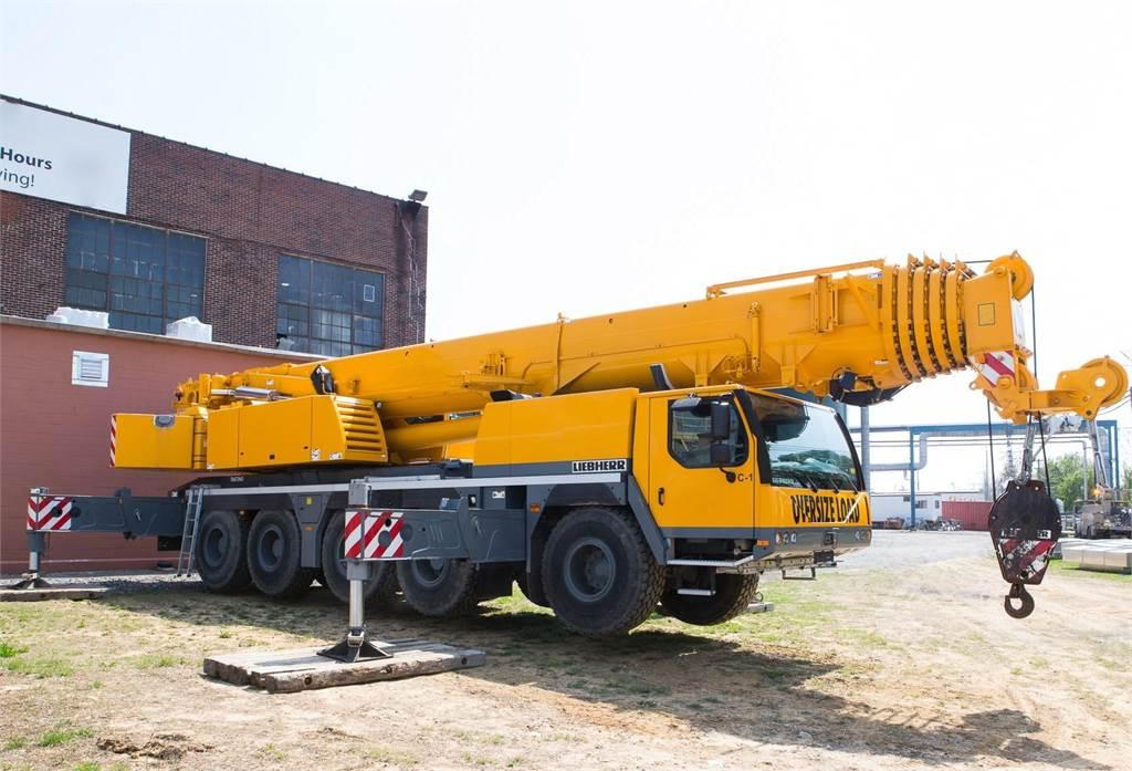 Liebherr LTM1130-5.1, All Terrain Cranes and Hydraulic Truck Cranes, Construction Equipment