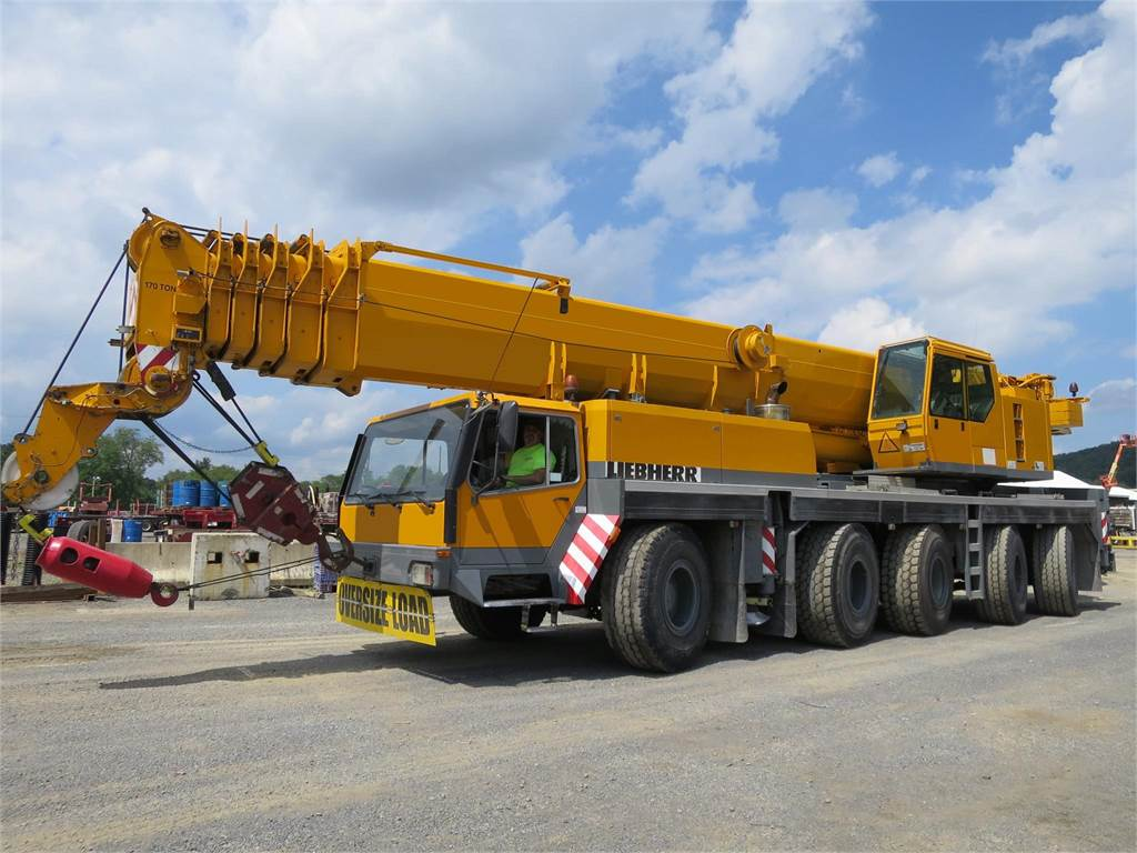 Liebherr LTM1150-1, All Terrain Cranes and Hydraulic Truck Cranes, Construction Equipment