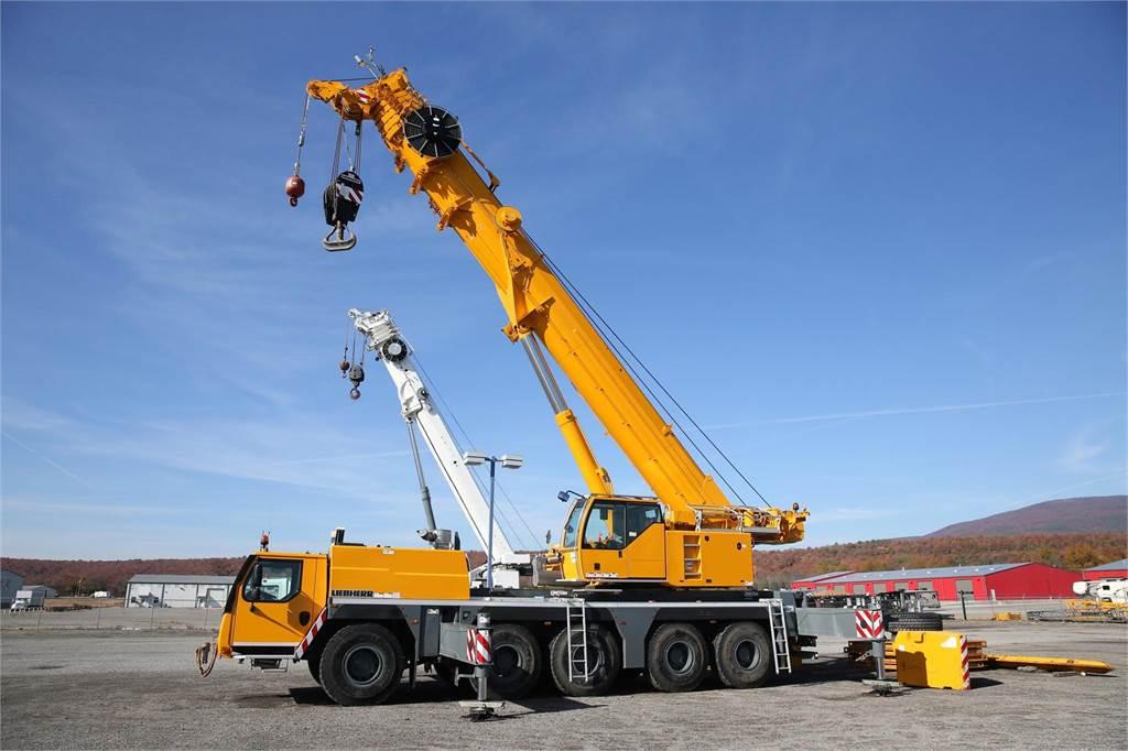 Liebherr LTM1160-5.1, All Terrain Cranes and Hydraulic Truck Cranes, Construction Equipment