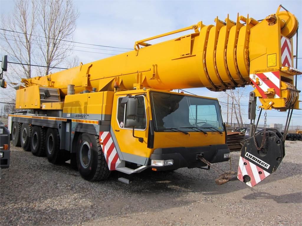 Liebherr LTM1200-1, All Terrain Cranes and Hydraulic Truck Cranes, Construction Equipment