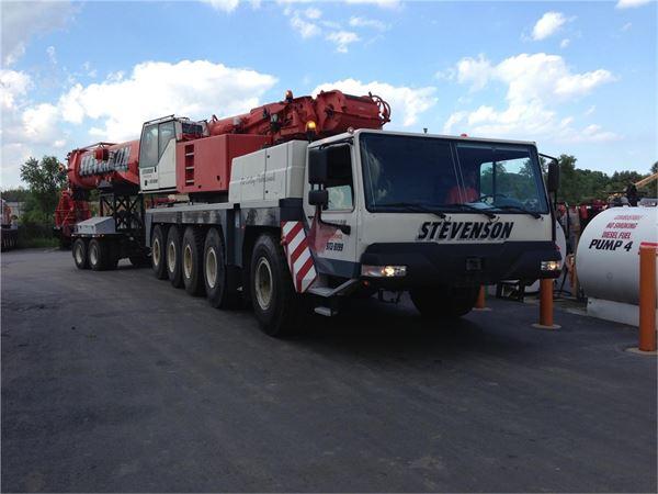 Liebherr LTM1200-1, All terrain cranes, Construction Equipment