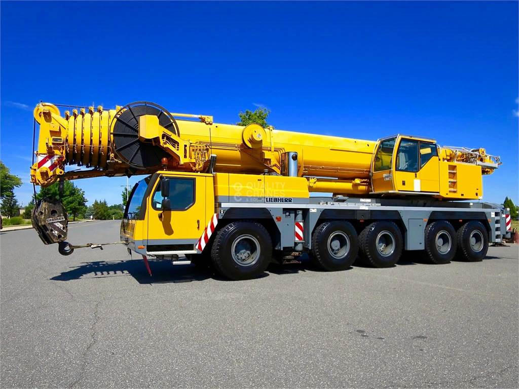 Liebherr LTM1200-5.1, All Terrain Cranes and Hydraulic Truck Cranes, Construction Equipment