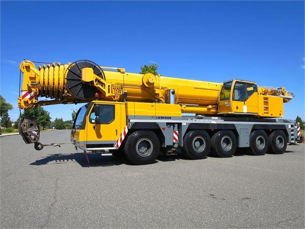Liebherr LTM1200-5.1, All Terrain Cranes and Hydraulic Truck Cranes, Construction Equipment