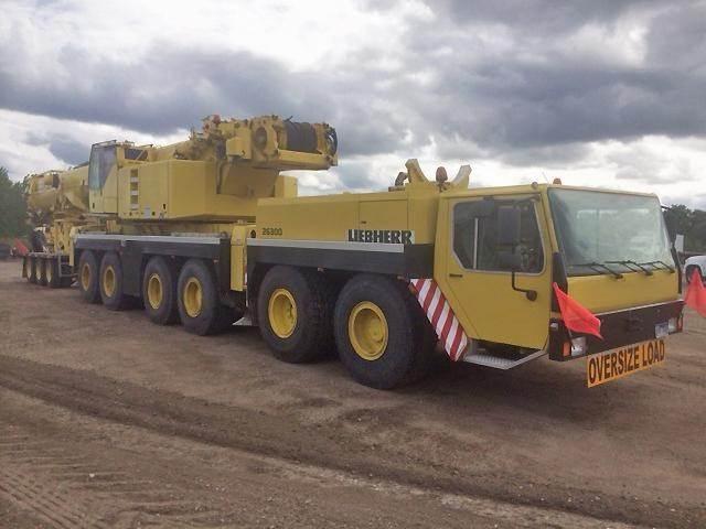 Liebherr LTM1250-1, All Terrain Cranes and Hydraulic Truck Cranes, Construction Equipment