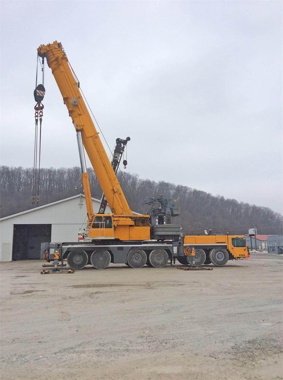 Liebherr LTM1300-1, All Terrain Cranes and Hydraulic Truck Cranes, Construction Equipment