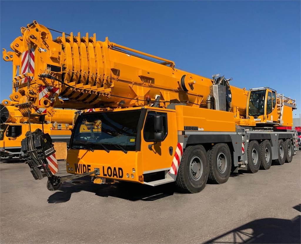 Liebherr LTM1300-6.2, All Terrain Cranes and Hydraulic Truck Cranes, Construction Equipment