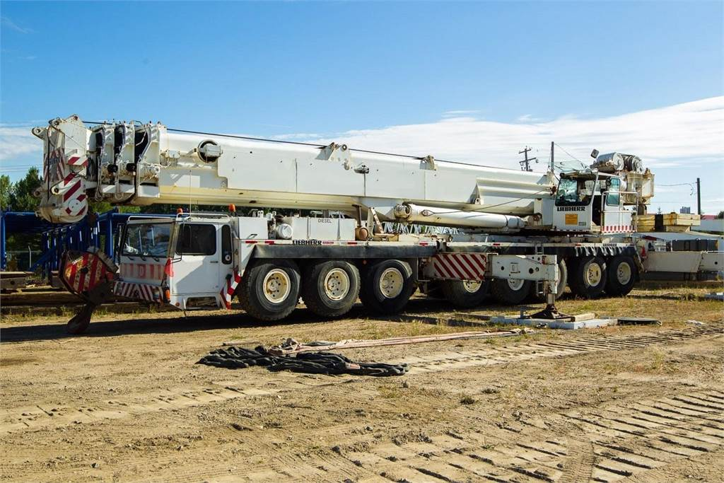 Liebherr LTM1400, Other Cranes and Lifting Machines, Construction Equipment
