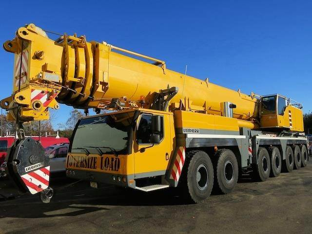 Liebherr LTM1400-7.1, All Terrain Cranes and Hydraulic Truck Cranes, Construction Equipment