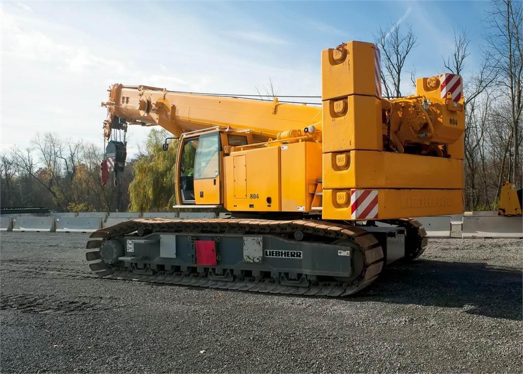 Liebherr LTR1100, Crawler Cranes, Construction Equipment
