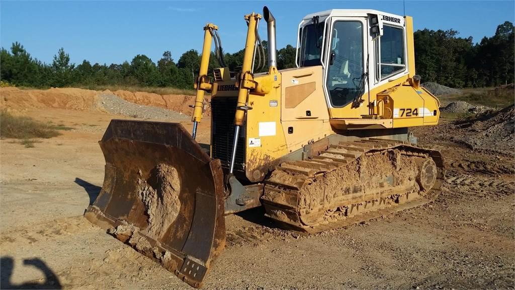 Liebherr PR724 LITRONIC, Crawler dozers, Construction Equipment